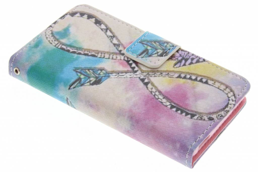 Infinity design TPU booktype hoes voor de Sony Xperia Z3 Compact
