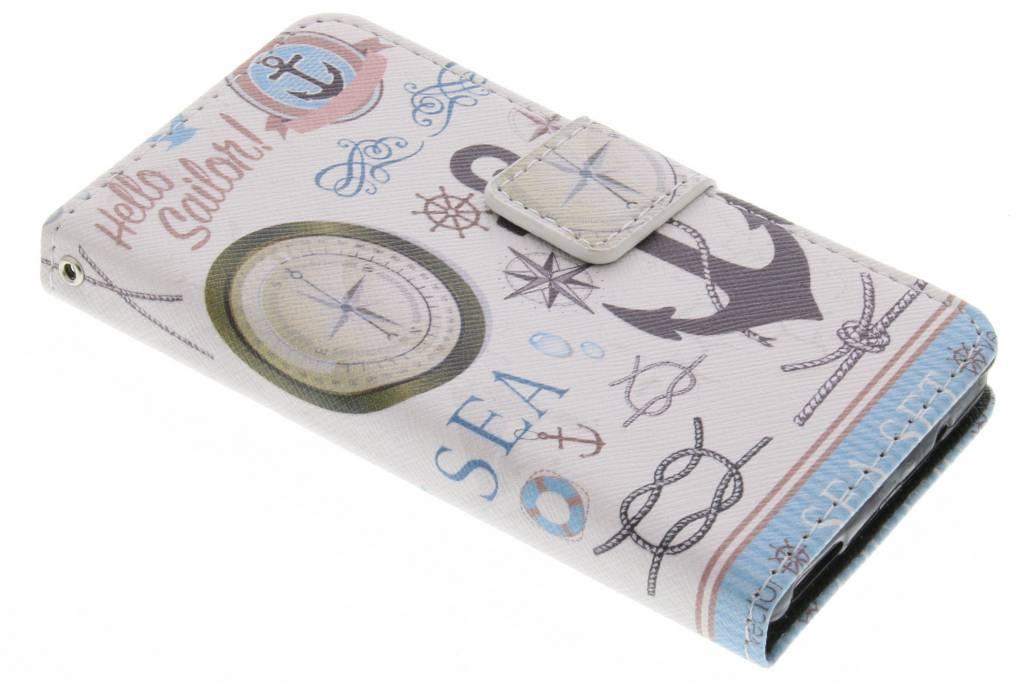 Sailor design TPU booktype hoes voor de Sony Xperia Z3 Compact