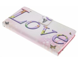 Design TPU booktype hoes Wiko Rainbow