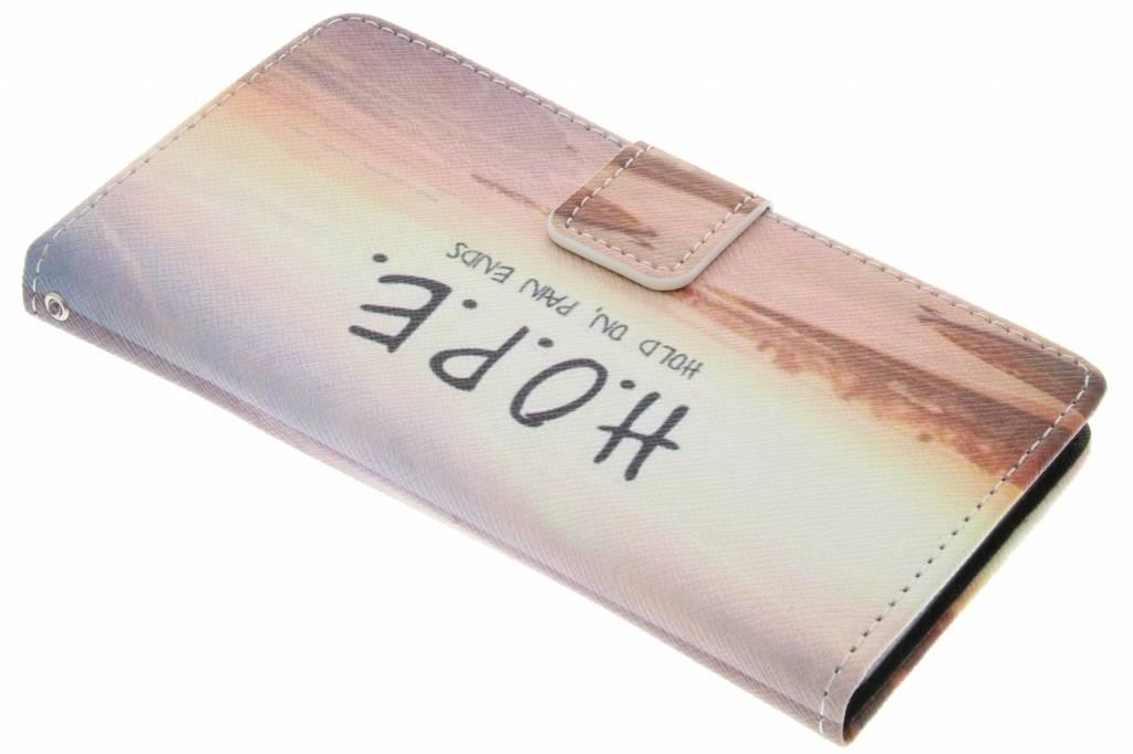 Hope design TPU booktype hoes voor de Sony Xperia Z3