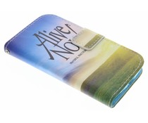 Design TPU booktype hoes Samsung Galaxy Core Plus