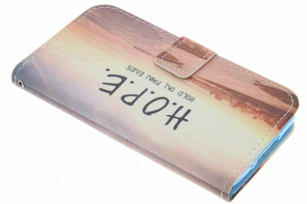 Hope design TPU booktype hoes voor de Samsung Galaxy S5 (Plus) / Neo