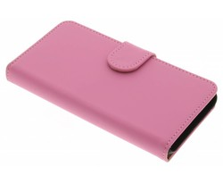 Roze effen booktype hoes Huawei Y3 2