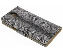 Slangenprint booktype hoes OnePlus 3 / 3T