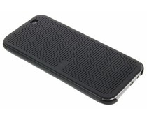 Zwart Dot-Cover hoes HTC One M8 / M8s