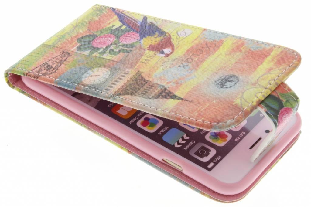 Big Ben papegaai design TPU flipcase voor de iPhone 6 / 6s