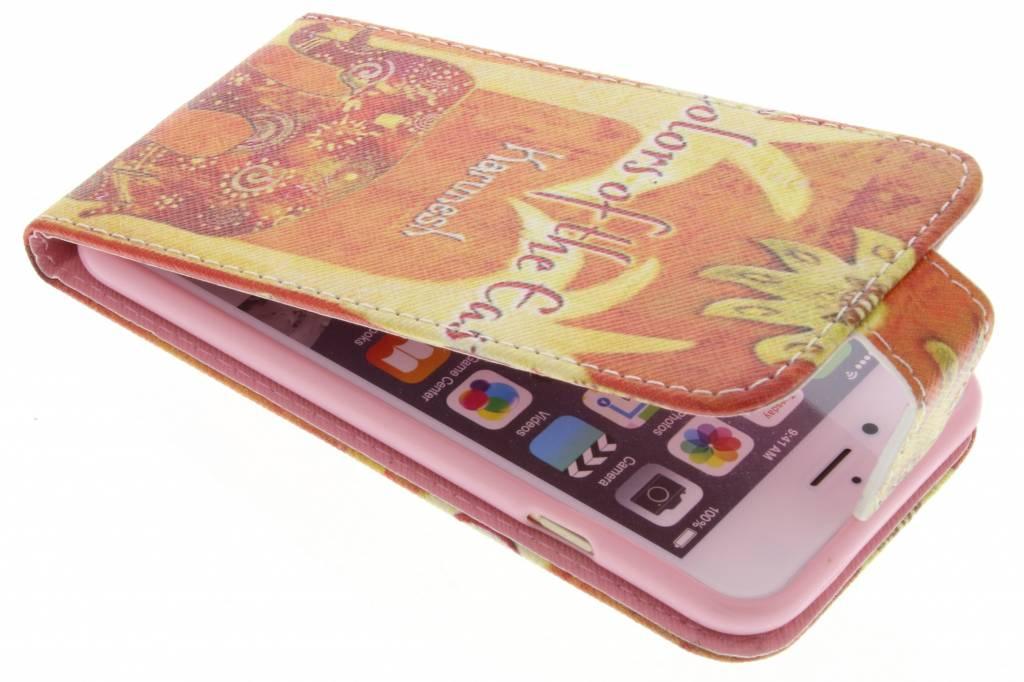 Olifant design TPU flipcase voor de iPhone 6 / 6s