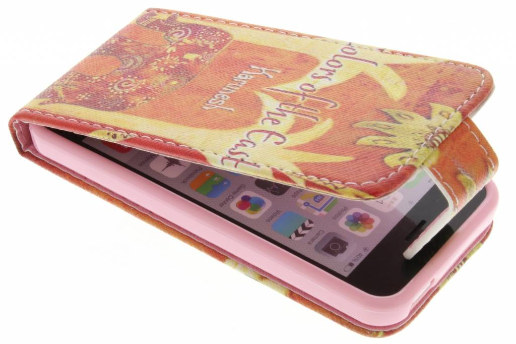 Olifant design TPU flipcase voor de iPhone 5c