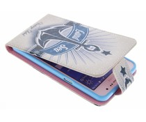 Design TPU flipcase Samsung Galaxy Grand Prime
