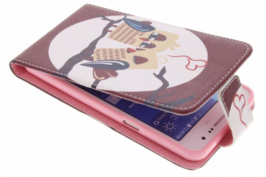 Uiltjes design TPU flipcase voor de Samsung Galaxy Grand Prime
