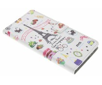Design booktype hoes Wiko Pulp Fab 4G