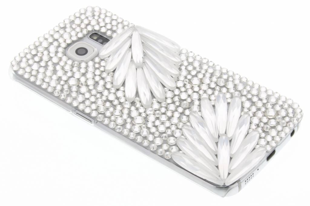 Glazen strass hardcase hoesje voor de Samsung Galaxy S6 Edge