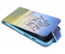 Design TPU flipcase Motorola Moto G 2nd Gen 2014