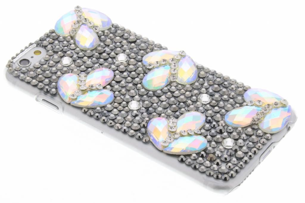 Glazen strass hardcase hoesje voor de iPhone 6 / 6s
