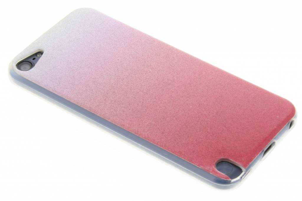 Roze glitter TPU softcase voor de iPod Touch 5g / 6