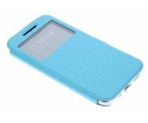 Blauw Rhombus hoesje HTC 10