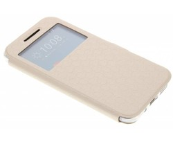 Goud Rhombus hoesje HTC 10