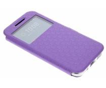 Paars Rhombus hoesje HTC 10