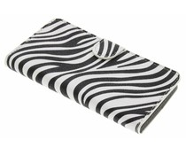 Zebra booktype hoes Wiko Lenny 2