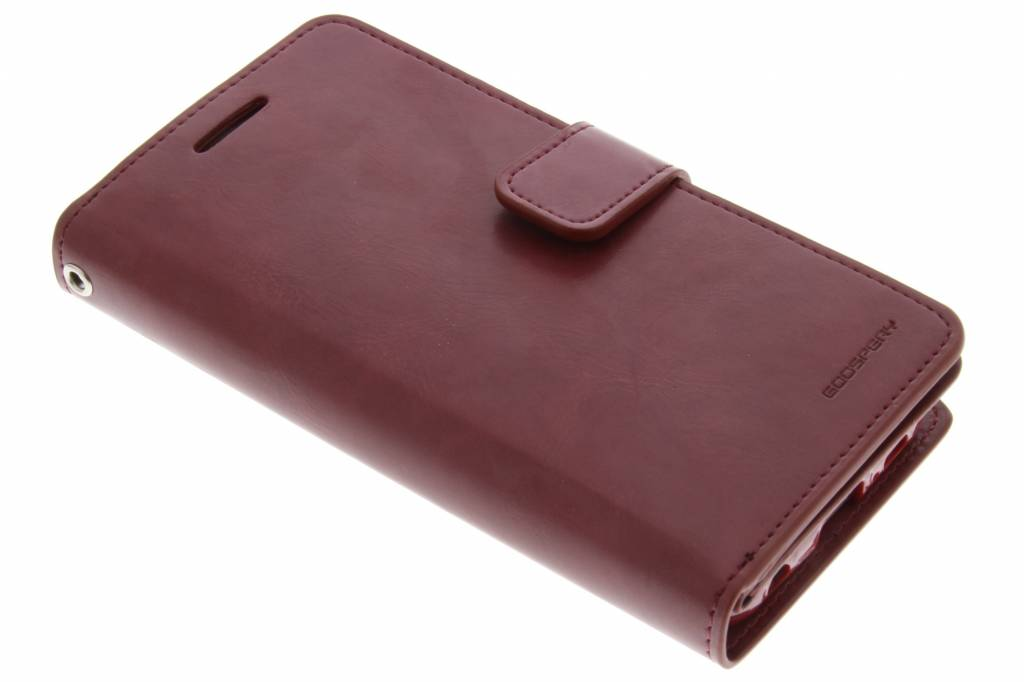Mercury Goospery Mansoor Wallet Diary Case voor de Samsung Galaxy S6 Edge - Kastanjebruin