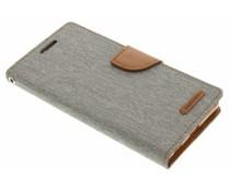 Mercury Goospery Canvas Diary Case Sony Xperia Z5