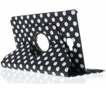 360° draaibare polka dot tablethoes Tab A 10.1 (2016)