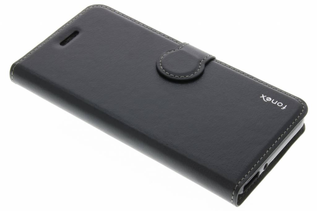Fonex Identity Bookcase voor de Huawei GR3 / P8 Lite Smart - Zwart