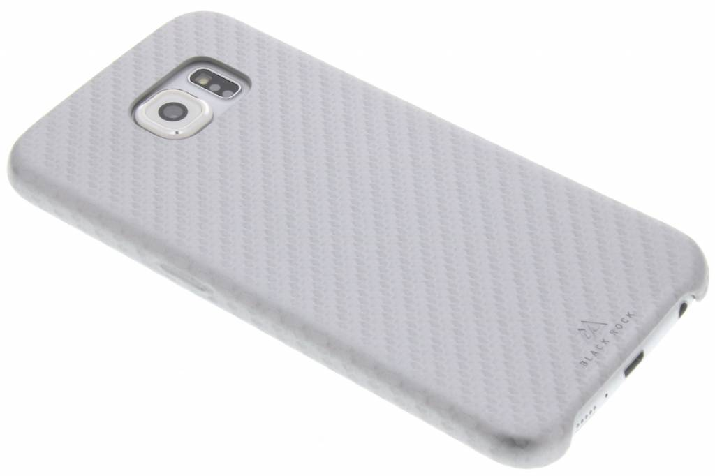 Black Rock Flex Carbon Case voor de Samsung Galaxy S6 - Zilver