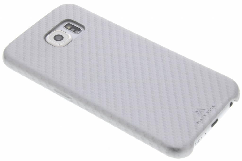 Black Rock Zilveren Flex Carbon Case voor de Samsung Galaxy S6