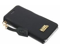 Karl Lagerfeld K-Grainy Booktype Case iPhone 6 / 6s - Zwart