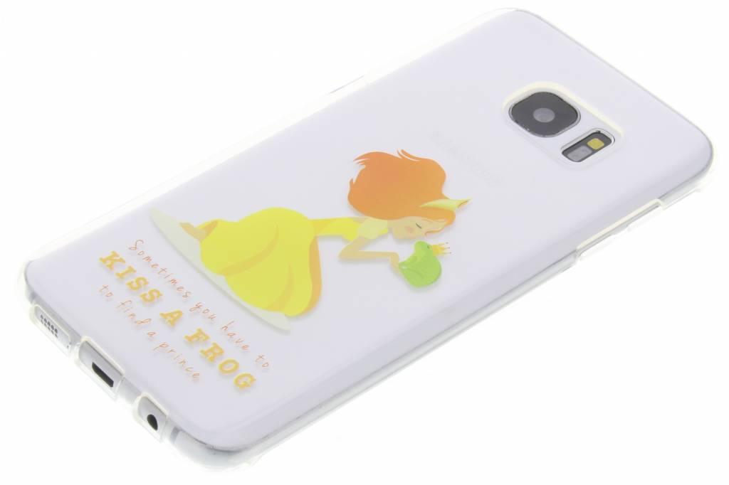 Embrasser Le Cas Tpu Fée Grenouille Silicone Pour Samsung Galaxy S7 WlFlfqbmI