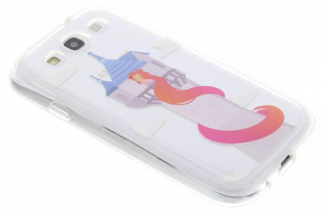 Rapunzel Sprookjes TPU siliconen hoesje voor de Samsung Galaxy S3 / Neo