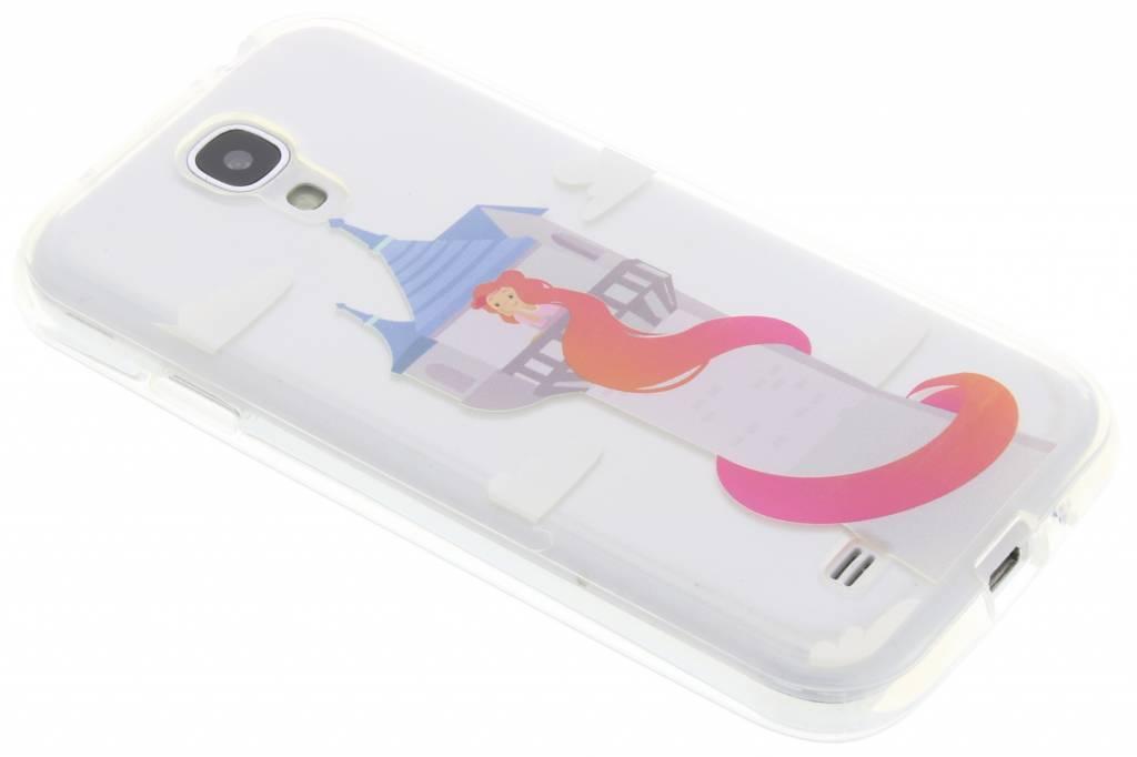 Rapunzel sprookjes TPU siliconen hoesje voor de Samsung Galaxy S4