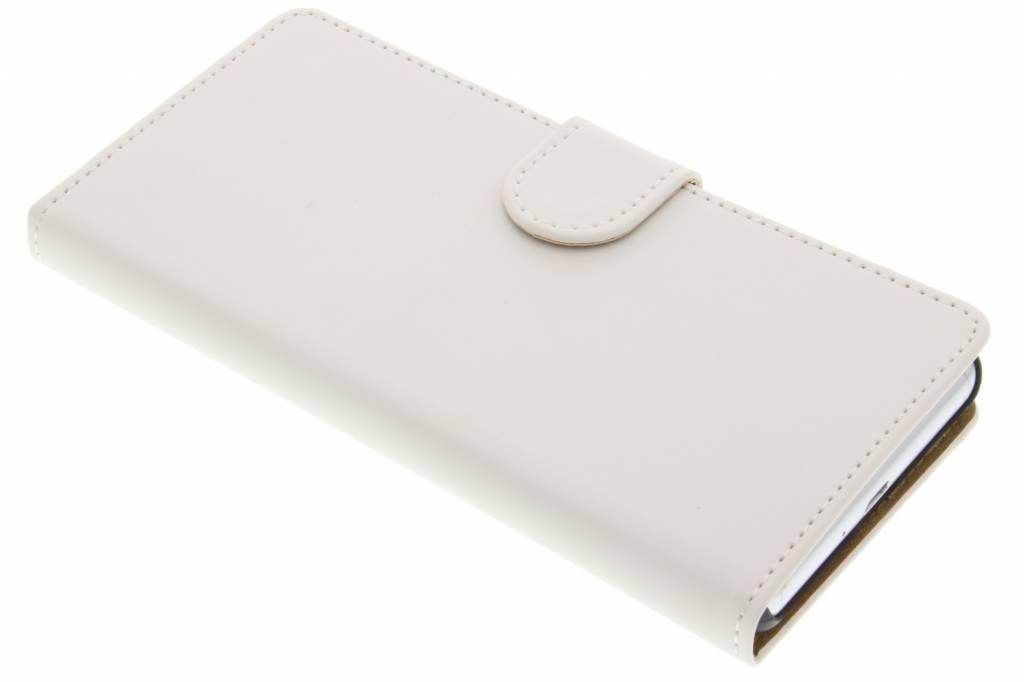 Witte effen booktype hoes voor de Sony Xperia X Performance