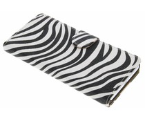 Zebra booktype hoes Sony Xperia X Performance