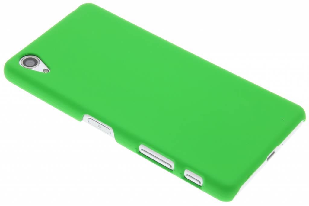 Groen effen hardcase hoesje voor de Sony Xperia X Performance