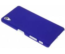 Blauw effen hardcase hoesje Sony Xperia X Performance