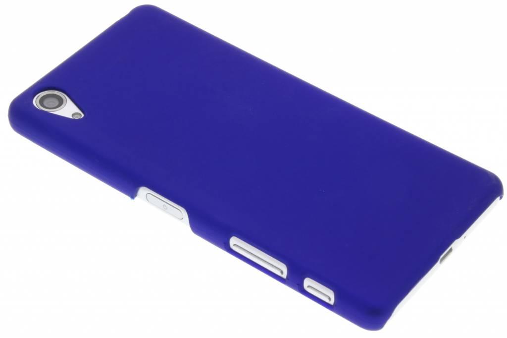 Blauw effen hardcase hoesje voor de Sony Xperia X Performance