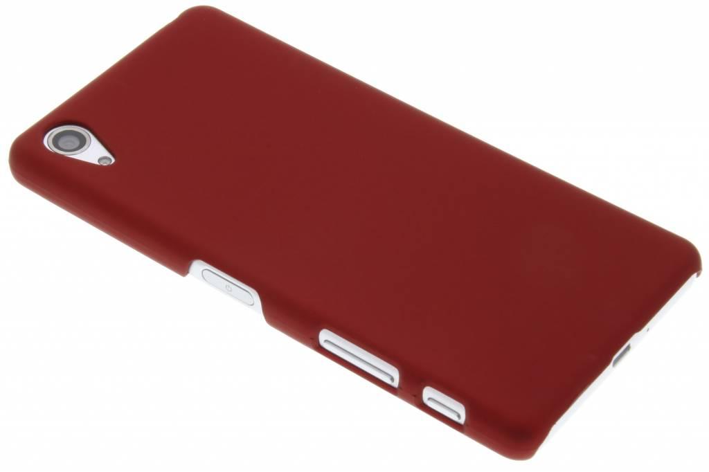 Rood effen hardcase hoesje voor de Sony Xperia X Performance