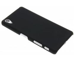 Zwart effen hardcase hoesje Sony Xperia X Performance