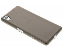 Grijs transparant gel case Sony Xperia X Performance