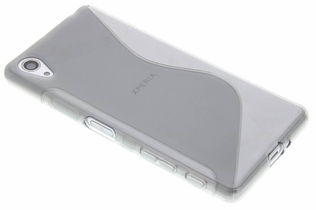 Grijs S-line TPU hoesje voor de Sony Xperia X Performance