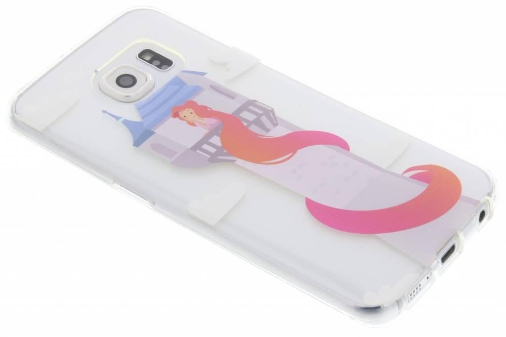 Rapunzel Sprookjes TPU siliconen hoesje voor de Samsung Galaxy S6 Edge