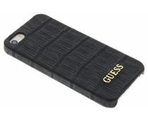 Guess Crocodile hardcase hoesje iPhone 5 / 5s / SE - Zwart