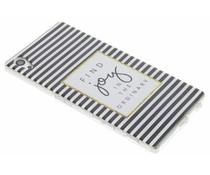 Design TPU siliconen hoesje Sony Xperia Z5