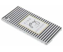 Design TPU siliconen hoesje Sony Xperia M4 (Aqua)