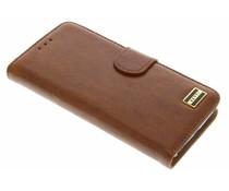 Vetti Craft Booktype Samsung Galaxy S6 Edge - Bruin