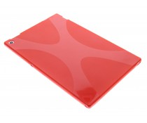 Rood X-Line TPU hoes Sony Xperia Tablet Z