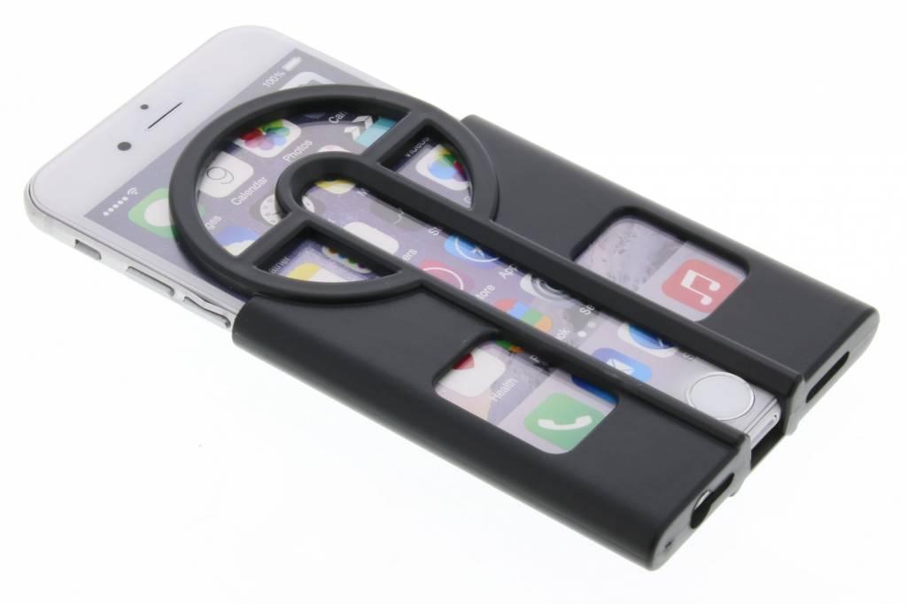 Zwarte Catch them all case voor de iPhone 6 / 6s