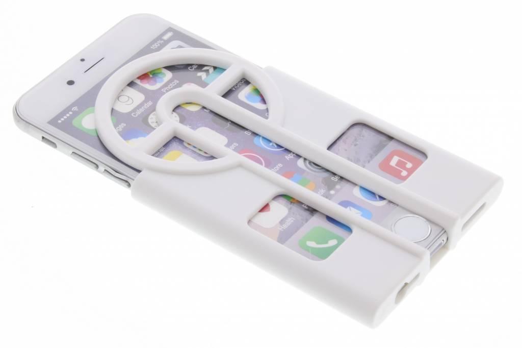 Witte Catch them all case voor de iPhone 6 / 6s
